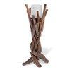 Boston International Driftwood Pillar Candle Holder