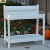 Greenfield Potting Bench - Color: White - Dura-Trel Inc. Greenhouse Potting