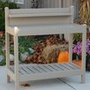 Greenfield Potting Bench - Color: Mocha - Dura-Trel Inc. Greenhouse Potting