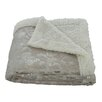 Plazatex / Sheradian Noble House Garden Sherpa Throw Blanket