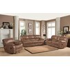 Sunset Trading Snuggle Up 3 Piece Rocking Reclining Living Room Set