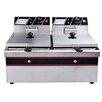 Homcom Double Electric Fryer