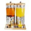 APS Top Fresh Wood Duo 6L Beverage Dispenser