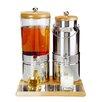 APS 6 L Getränkespender Wood Duo Top Fresh