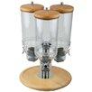 APS 4,5L Cerialienspender Rotation mit 3 Behältern