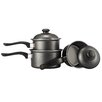 Everyday Cooking 3-Piece Cookware Set with Lids