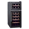 Homeimage 21 Bottle Dual Zone Freestanding Wine Refrigerator