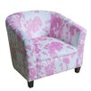 HomePop Juvenile Barrel Chair