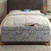 HomePop Apron Wood Storage Bedroom Bench