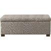 HomePop Wood Storage Bedroom Bench