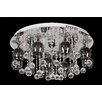 Lampex Vegas 18 Light Flush Ceiling Light