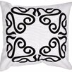 Jaipur Rugs Pop Nomad Contemporary Suzani Cotton Throw Pillow