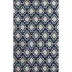 Jaipur Rugs Catalina Blue/Ivory Geometric Indoor/Outdoor Area Rug