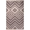 Jaipur Rugs Desert Taupe & Ivory Geometrical Indoor/Outdoor Area Rug