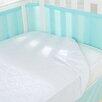 BreathableBaby Air Mesh Waterproof Crib Mattress Pad