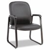 Alera® Genaro Series Mid-Back Leather Guest Chair