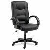Alera® Strada Series High-Back Leather Executive Chair