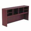 """Alera® Valencia Series 35.5"""" H x 66"""" W Desk Hutch"""