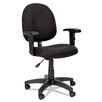 Alera® Essentia Series High-Back Swivel Task Chair with Adjustable Arms