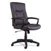 Alera® YR Series High-Back Leather Executive Swivel/Tilt Office Chair