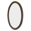 American Imaginations Transitional Birchwood-Veneer Wall Mirror