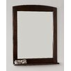 American Imaginations Traditional Birchwood-Veneer Wall Mirror