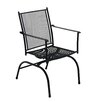 SunVilla Home Cambridge Spring Action Mesh Dining Arm Chair (Set of 2)