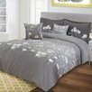 Maison Condelle Adrien Lewis Willow 5 Piece Queen Duvet Cover Set