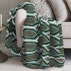 Maison Condelle Lauren Taylor Geo Printed Microfleece Blanket