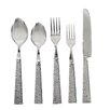 VANDERPUMP Beverly Hills Ravello 5 Piece Flatware Set