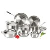 Lagostina Axia Stainless Steel Tri Ply 13 Piece Cookware Set