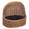 Prestige Wicker Wicker Cat/Dog Bed House in Natural