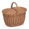 Prestige Wicker Wicker Shopping Basket With Lid