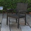 Marstone USA Garden Stacking Dining Arm Chair