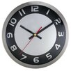 "Artistic Products Brushed 9"" Wall Clock"