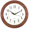 "Artistic Products Wood Time 12"" Wall Clock"