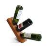 Recherche Furnishings Vineyard 3 Bottle Tabletop Wine Rack