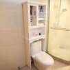 Adeco Trading Over the Toilet Storage Spacesaver Shelves