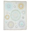 Nurture Imagination Cocoa Heavenly Spheres and Cosmic Dots 3 Piece Crib Bedding Set