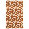 Kaleen Revolution Orange/White Area Rug