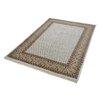 Parwis Handgeknüpfter Teppich Sarough Mir in Creme