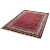 Parwis Handgeknüpfter Teppich Sarough Mir in Rot