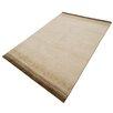 Parwis Handgeknüpfter Teppich Indo Gabbeh Chenar in Braun