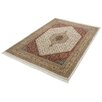 Parwis Indo Royal Bidjar Cream Rug