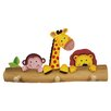 Fantasy Fields by Teamson Sunny Safari Peg Wall Mounted Coat Rack