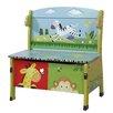 Fantasy Fields by Teamson Safari Wood Storage Bedroom Bench