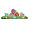 Fantasy Fields by Teamson Magic Garden Peg Wall Mounted Coat Rack
