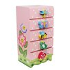 Fantasy Fields by Teamson Magic Garden Trinket 5 Drawer Chest of Drawers