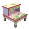 Fantasy Fields by Teamson Magic Garden 2-step Fiberglass Step Stool