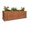 Churchill Cedar Planter Box - Greenstone Garden Planters